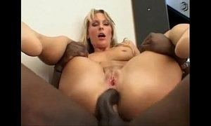 Black stud Joachim kessef fucking a hot euro blonde