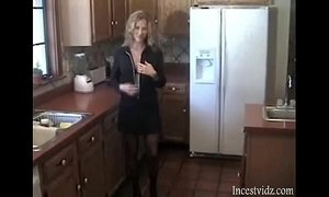 Sexy Housewife Gets fucked by stepson