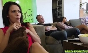 Chad plowing Maya Bijou pussy from behind doggystyle