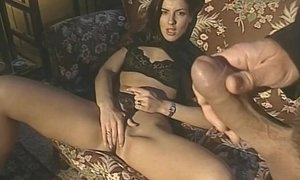Old porn movie with amazing Karen Lancaume and other hot chicks