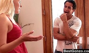 Slutty stepsister gets what she wants