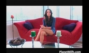 Amazing chick enjoys in passionate