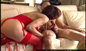 Middle aged mom fucked
