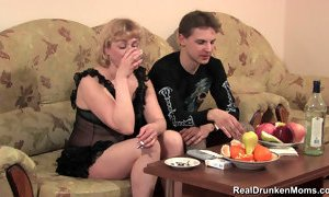 DRUNK RUSSIAN MATURE MARINA sc 1