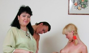mature, teacher, threesome