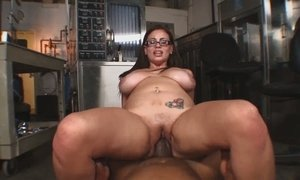 black, blowjob, busty, caught, chick